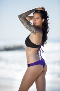 Clair Marie, BASE girl, Claire Marie, Tattooed Model, Tattooed Girl, Model, Stunt Woman, BASE jumper, Female BASE jumper