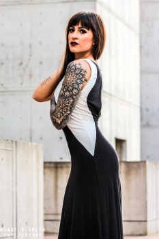 Model, Tattooed model, alternative model, Clair Marie, BASE girl, Claire Marie, Tattooed Model, Tattooed Girl, Model, Stunt Woman, BASE jumper, Female BASE jumper
