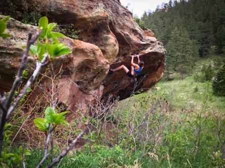 Bouldering in Boulder