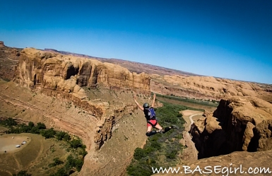 Clair Marie, Claire Marie, BASEgirl, BASE girl, base girl, female base jumper, base jumper