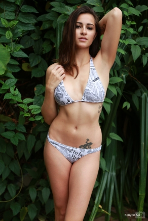 BASE girl Bikini available at www.kaikini.com/basegirl