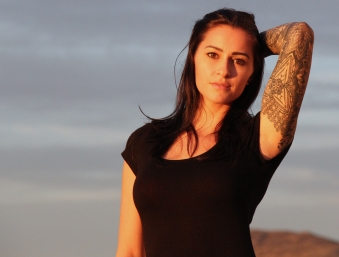 Claire Marie, Clair Marie, Tattooed model, Stunt woman, BASE girl